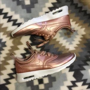 Shoes - Rosegold Air Max Thea Size 5.5